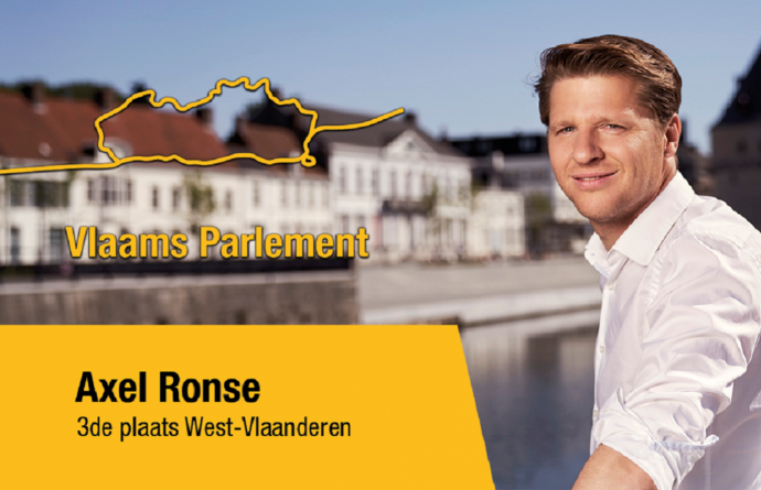 Axel Ronse op 3 Vlaams Parlement