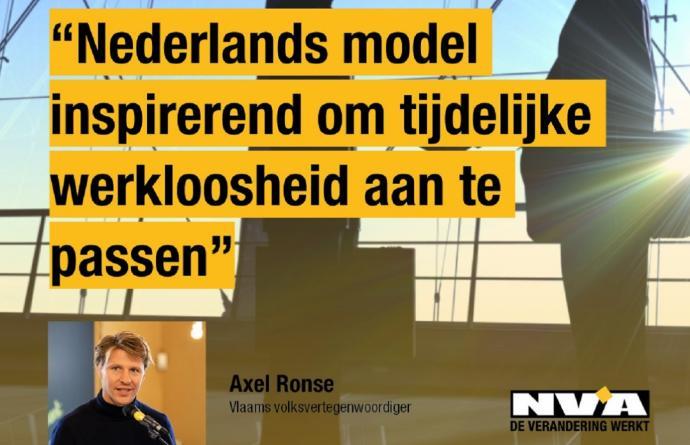 Nederlands model inspirerend om tijdelijke werkloosheid aan te passen