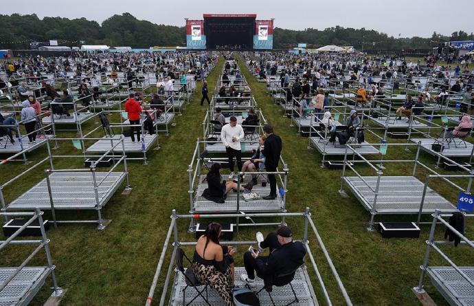 Kortrijk krijgt coronaproof evenementenplein tegen midden september