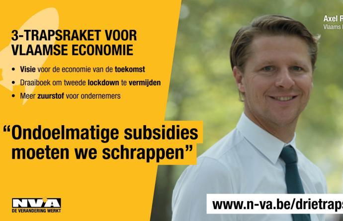 N-VA lanceert in Vlaams Parlement drietrapsraket voor de Vlaamse economie van de toekomst