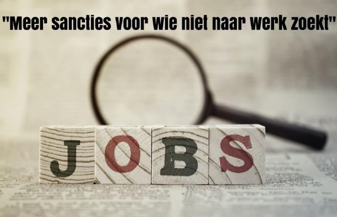 Meer sancties voor wie niet naar werk zoekt
