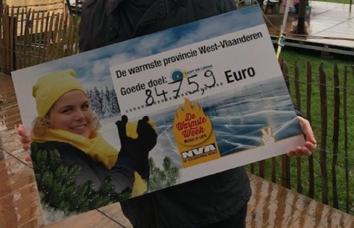 8.745 euro voor Licht en Liefde