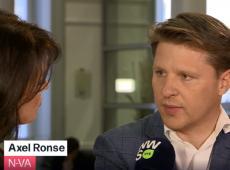 Axel Ronse op de Rooster in Villa Politica