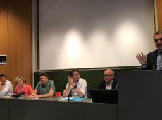 Politiek debat @Kulak Kortrijk