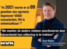 89 gevallen van agressie tegenover VDAB-bemiddelaars