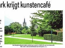 """Axel Ronse Schepen van cultuur Kortrijk N-VA  """"Begijnhofpark krijgt kunstencafé"""""""
