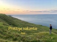 Axel Ronse wenst iedereen een prettige zomer
