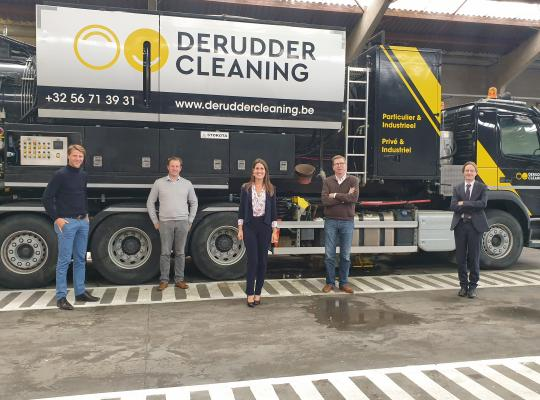 Axel Ronse op ronde in West-Vlaanderen Etappe 15 De Rudder Cleaning