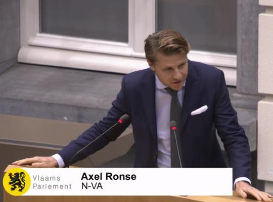 Axel Ronse Kopman WERK N-VA