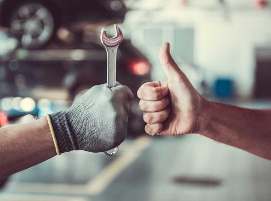 Werkende handen