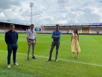 Maaike De Vreese en Axel Ronse bezorgd over evenementensector