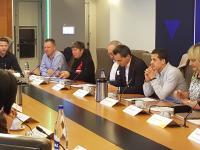 Axel Ronse zit vergadering voor @unizo stagedag