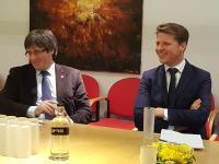Eerst  gesprek met Puigdemont