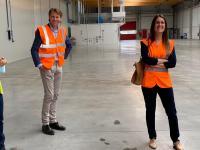 Bezoek in de Hallen van ICO